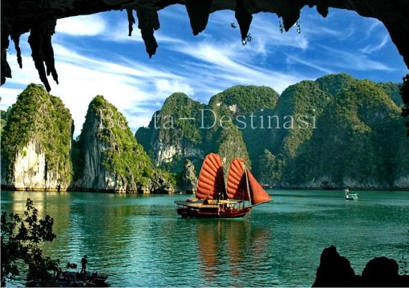 Wisata Ha Long Bay Vietnam | Ha Long Bay vs Raja Ampat | Ha Long Bay, Raja Ampat Vietnam